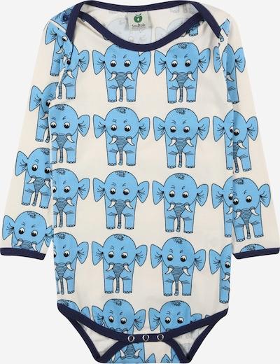 Småfolk Kombinezons/bodijs 'Elephant', krāsa - jūraszils / debeszils / melns / balts, Preces skats
