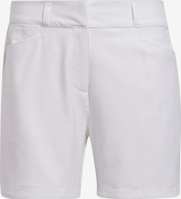 ADIDAS PERFORMANCE Workout Pants in White