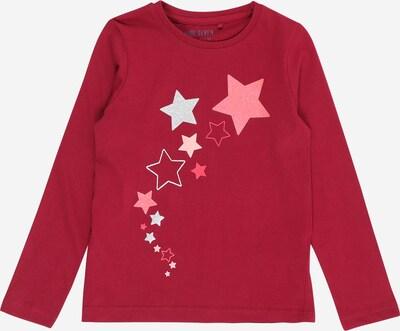 BLUE SEVEN T-Shirt en rose clair / rouge pastel / blanc, Vue avec produit