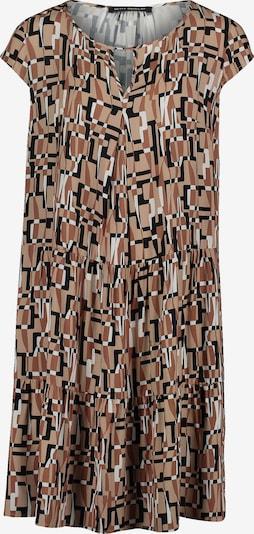 Betty Barclay Sommerkleid mit Rundhalsausschnitt in beige / braun, Produktansicht