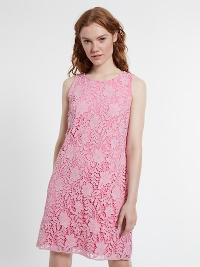Ana Alcazar Kleid  ' Dabory ' in pink, Modelansicht