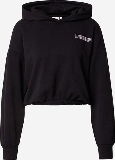 ONLY Sweatshirt 'Cooper' in schwarz / weiß, Produktansicht