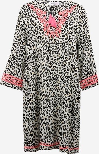 Zwillingsherz Robe-chemise 'Irina' en nude / saumon / noir, Vue avec produit