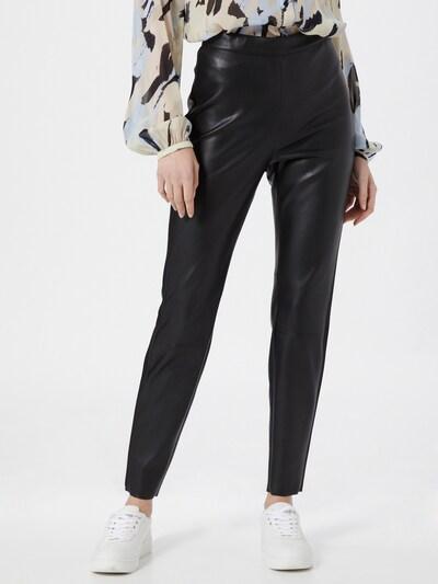 s.Oliver BLACK LABEL Leggings en negro, Vista del modelo