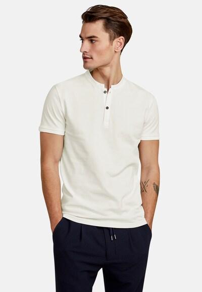 NEW IN TOWN Poloshirt in weiß / naturweiß: Frontalansicht