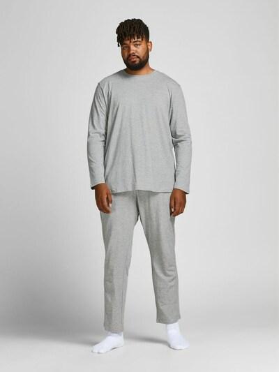 JACK & JONES Pyjama in grau, Modelansicht