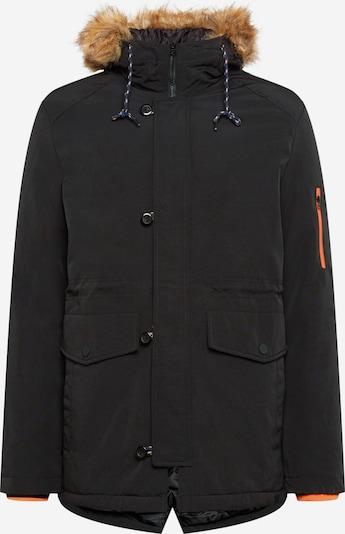 Denim Project Winterjas 'Kondy' in de kleur Lichtbruin / Zwart, Productweergave