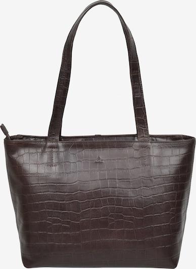 ADAX Shopper 'Penelope' in dunkelbraun, Produktansicht