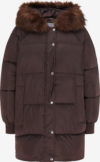 MYMO Manteau d'hiver en brun foncé, Vue avec produit