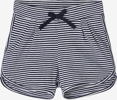 NAME IT Shorts  'Josephine' in dunkelblau / weiß, Produktansicht