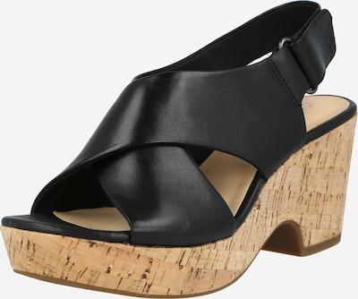 Sandalo 'Maritsa Lara' CLARKS di colore marrone chiaro / nero, Visualizzazione prodotti