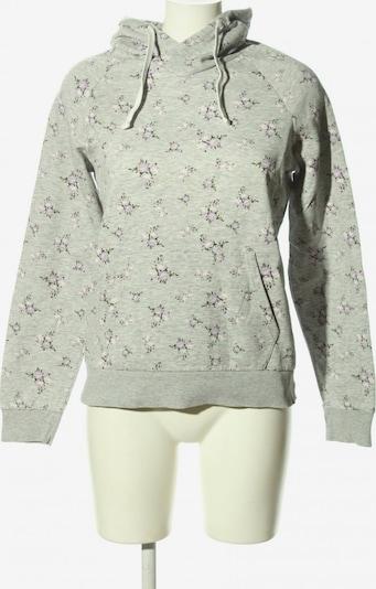CLOCKHOUSE by C&A Kapuzensweatshirt in M in hellgrau / khaki / lila, Produktansicht