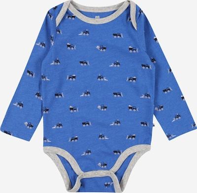 GAP Rompertje/body in de kleur Blauw / Kobaltblauw / Grijs / Wit, Productweergave