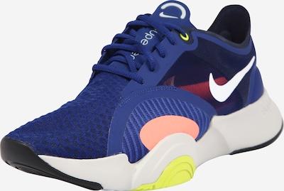 NIKE Sportschoen 'Superrep Go' in de kleur Blauw / Geel / Rosa / Wit, Productweergave
