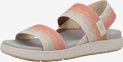 KEEN Sandales en rose / blanc, Vue avec produit