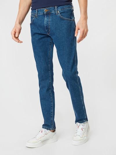 WRANGLER Jeans 'LARSTON' in blue denim, Modelansicht