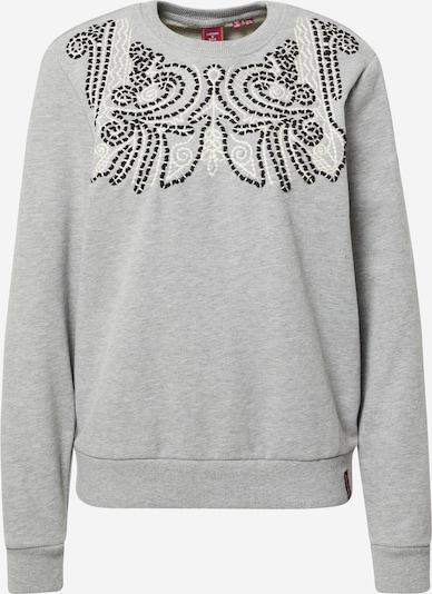 Superdry Sweatshirt 'Bohemian' i grå / sort, Produktvisning