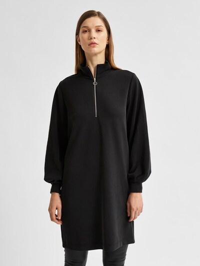 SELECTED FEMME Kleid 'Tenny' in schwarz, Modelansicht