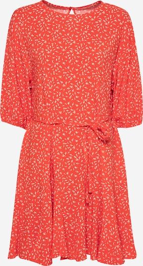 Soft Rebels Robe 'Jolene' en orange foncé / blanc, Vue avec produit
