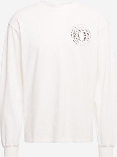The Kooples Shirt in de kleur Basaltgrijs / Offwhite, Productweergave