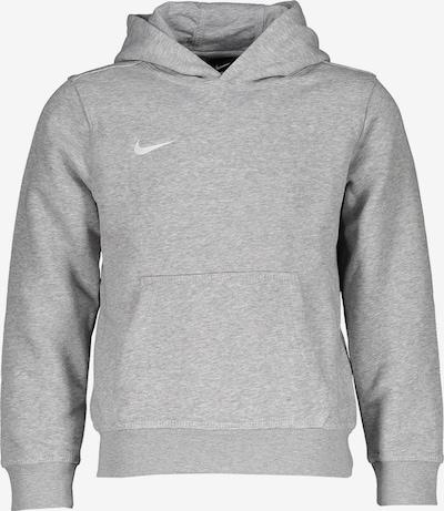 NIKE Sportsweatshirt in graumeliert / weiß, Produktansicht