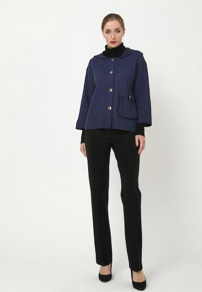 Madam-T Blazer 'PIRA' in blau, Modelansicht