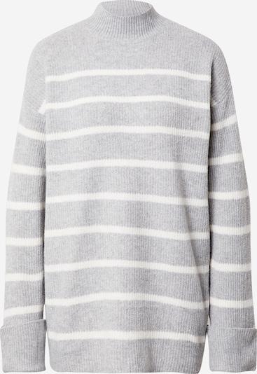 VERO MODA Pullover in grau / weiß, Produktansicht