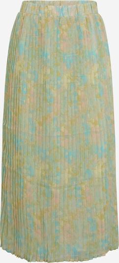 Fustă 'GEORGIA' Selected Femme Tall pe albastru deschis / galben deschis / roz pudră, Vizualizare produs