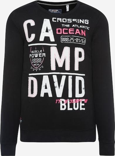 CAMP DAVID Sweatshirt mit Logo-Design in schwarz, Produktansicht