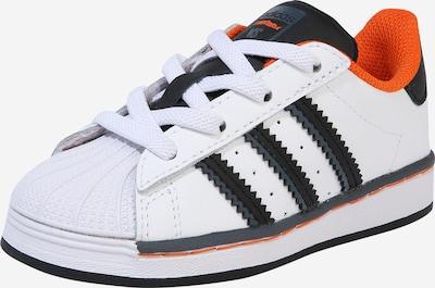 ADIDAS ORIGINALS Sneaker 'SUPERSTAR EL I' in orange / schwarz / weiß, Produktansicht