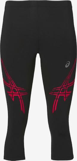 ASICS Sporthose 'STRP KNEETIGHT' in rot / schwarz, Produktansicht