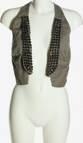 MEXX Vest in S in Grey