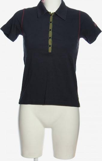 Porsche Design Polo-Shirt in S in blau / hellgrau, Produktansicht