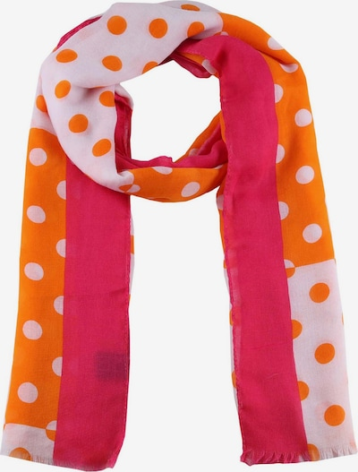 Zwillingsherz Šála - tmavě oranžová / pink / bílá, Produkt
