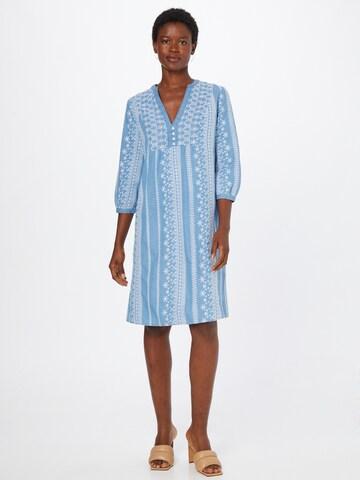 ESPRIT Рокля тип риза в синьо