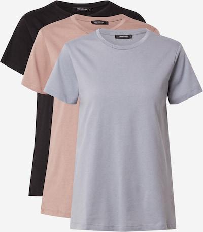 Trendyol Shirt in Smoke blue / Dusky pink / Black, Item view