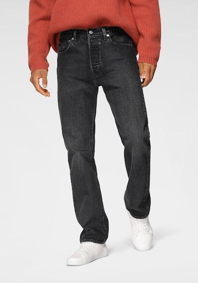 LEVI'S Jeans '501®' in black denim, Modelansicht