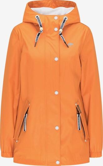 Schmuddelwedda Jacke in navy / hellgrau / orange, Produktansicht