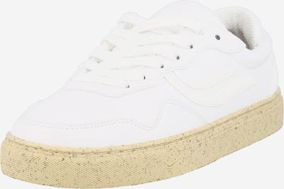 GENESIS Baskets basses 'G-Soley' en blanc naturel, Vue avec produit