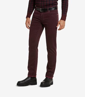Meyer Hosen Jeans in Rot