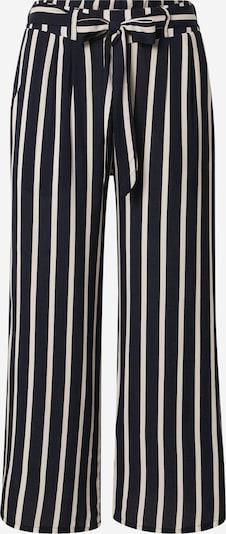 Hailys Kalhoty se sklady v pase 'Cira' - námořnická modř / bílá, Produkt