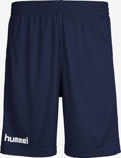 Hummel Shorts in marine / weiß, Produktansicht
