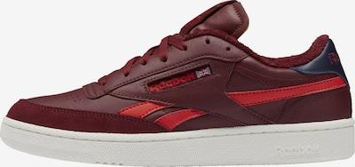 Reebok Classics Sneaker 'Club C Revenge' in navy / karminrot / hellrot, Produktansicht