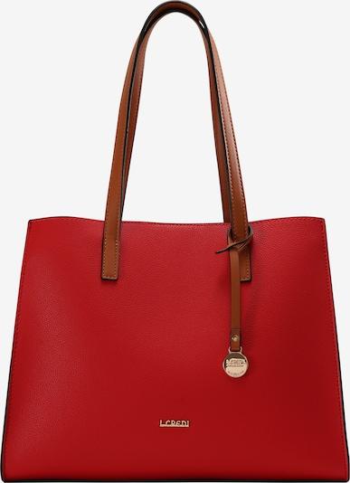 L.CREDI Shopper 'Erpel Shopper' in rot, Produktansicht