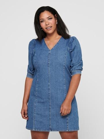 ONLY Carmakoma Dress 'Lursa' in Blue