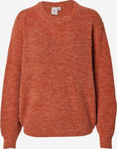 ICHI Pullover in braunmeliert, Produktansicht
