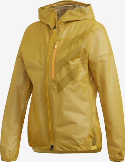 ADIDAS PERFORMANCE Sportjacke in gold, Produktansicht