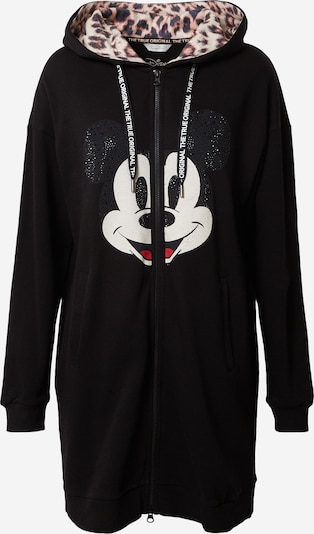 Giacca di felpa 'Mickey' Frogbox di colore rosso / nero / bianco, Visualizzazione prodotti