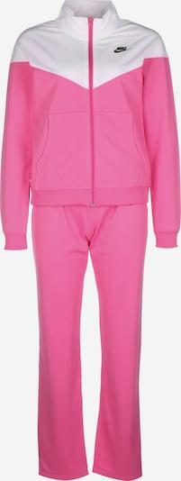 NIKE Trainingsanzug in pink / weiß, Produktansicht