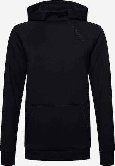 Superdry Sweat de sport en noir, Vue avec produit
